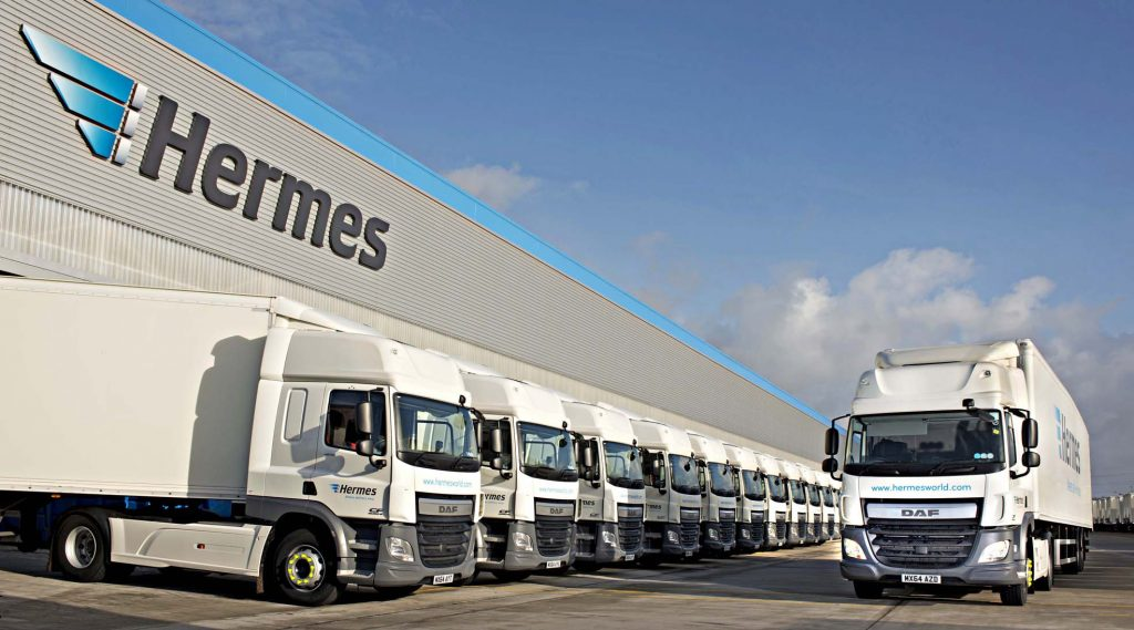 Hermes depot, multiple projects delivered by Sandyx, Manchester Salesforce partner