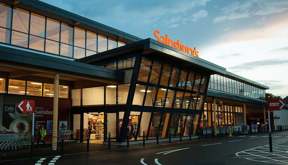 Sainsbury's store front, multiple projects delivered by Sandyx, Manchester Salesforce partner