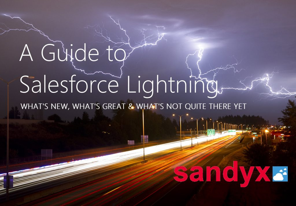 Salesforce Lightning whitepaper