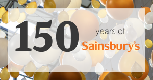 Sainsburys anniversary 150 years